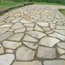 Pavimentazione tipo Opus Incertum